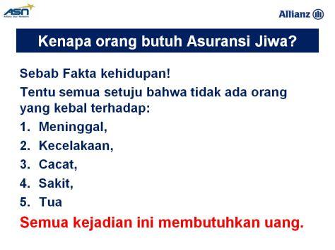 Konsep Asuransi Jiwa 1