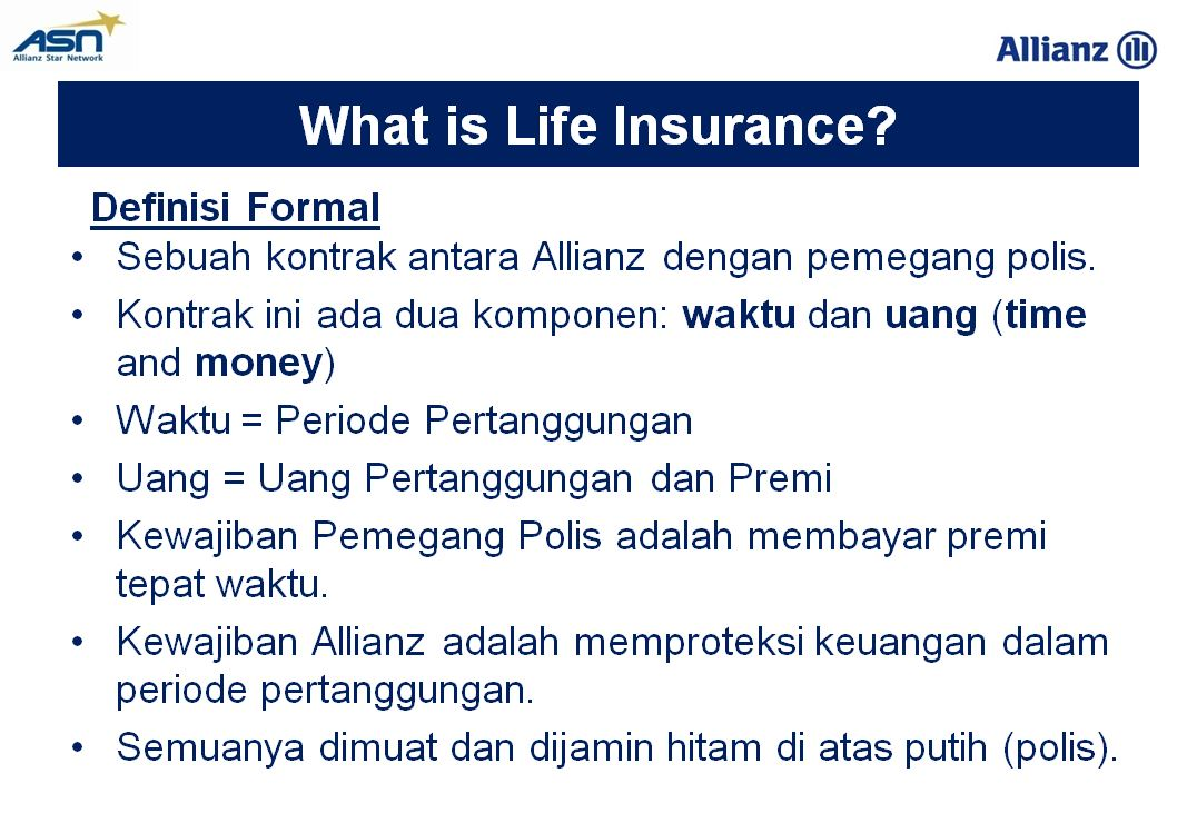 Asuransi Jiwa Allianz 1